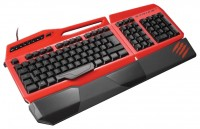 Mad Catz S.T.R.I.K.E. 3 Gaming Keyboard Red USB