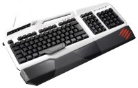 Mad Catz S.T.R.I.K.E. 3 Gaming Keyboard White USB