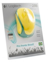 Logitech Wireless Mouse M235 910-004026 Yellow-Green USB USB