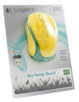 Logitech Wireless Mouse M235 910-004026 Yellow-Green USB USB