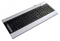D-computer KB-8112 Black-Silver PS/2