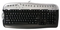 D-computer KB-2625 Black-Silver PS/2