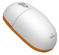 Visenta I0 Wireless Mouse White-Orange USB