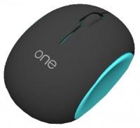 Visenta Ione Wireless Mouse Black-Blue USB