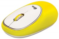 Ritmix RMW-250 Antistress White-Yellow USB