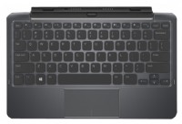 DELL Tablet Keyboard Mobile Black Bluetooth