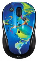 Logitech Wireless Mouse M325 In The Deep Black-Blue USB
