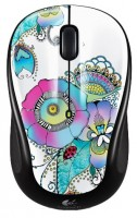Logitech Wireless Mouse M325 Lady on the Lily Black-White USB