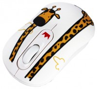 CROWN CMM-928W Giraffe White-Orange USB
