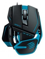 Mad Catz R.A.T. TE Gaming Mouse for PC and Mac Blue USB