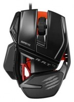 Mad Catz R.A.T. TE Gaming Mouse for PC and Mac Black USB