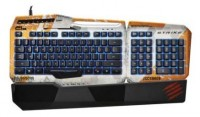 Mad Catz Titanfall S.T.R.I.K.E. 3 Gaming Keyboard for PC Grey USB