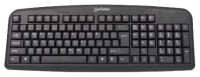 Manhattan Enhanced Keyboard 175708 Black USB