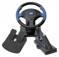 EXEQ Racing Wheel for PC,PS2,PS3