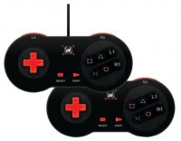 dreamGEAR Arcade Fighter Classic Pad Twin Pack for PS3