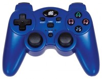 dreamGEAR Radium Wireless Controller with Dual Rumble Motors for PS3