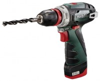 Metabo PowerMaxx BS Quick Pro 2.0Ah x1 + 4.0Ah x1 MetaLoc