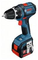 Bosch GSR 14,4 V-LI 1.3Ah x2 L-BOXX Set