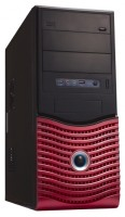 FOX 5827BR w/o PSU Black/red