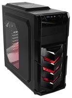 RaidMAX Vortex V4 w/o PSU Black/red
