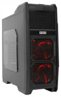 FOX 9606RD w/o PSU Black/red