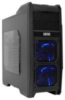 FOX 9606BU w/o PSU Black/blue