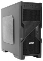 FOX 9605BK w/o PSU Black