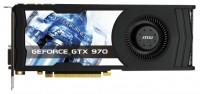 MSI GeForce GTX 970 1051Mhz PCI-E 3.0 4096Mb 7010Mhz 256 bit DVI HDMI HDCP
