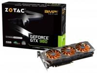 ZOTAC GeForce GTX 980 1165Mhz PCI-E 3.0 4096Mb 7010Mhz 256 bit DVI HDMI HDCP