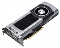 ASUS GeForce GTX 980 1126Mhz PCI-E 3.0 4096Mb 7010Mhz 256 bit DVI HDMI HDCP