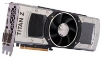 Inno3D GeForce GTX TITAN Z 705Mhz PCI-E 3.0 12288Mb 7000Mhz 768 bit 2xDVI HDMI HDCP