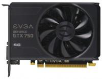 EVGA GeForce GTX 750 1215Mhz PCI-E 3.0 2048Mb 5012Mhz 128 bit DVI HDMI HDCP