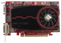 PowerColor Radeon HD 7730 800Mhz PCI-E 3.0 4096Mb 1600Mhz 128 bit DVI HDMI HDCP
