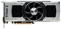 ZOTAC GeForce GTX TITAN Z 705Mhz PCI-E 3.0 12288Mb 7000Mhz 768 bit 2xDVI HDMI HDCP