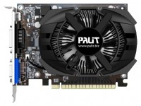 Palit GeForce GT 740 993Mhz PCI-E 3.0 2048Mb 5000Mhz 128 bit DVI Mini-HDMI HDCP
