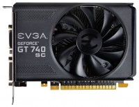 EVGA GeForce GT 740 1085Mhz PCI-E 3.0 1024Mb 5000Mhz 128 bit 2xDVI Mini-HDMI HDCP
