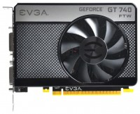EVGA GeForce GT 740 1202Mhz PCI-E 3.0 2048Mb 5000Mhz 128 bit 2xDVI Mini-HDMI HDCP