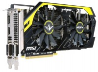 MSI GeForce GTX 760 1006Mhz PCI-E 3.0 2048Mb 6008Mhz 256 bit 2xDVI HDMI HDCP HAWK LE