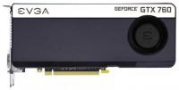 EVGA GeForce GTX 760 980Mhz PCI-E 3.0 4096Mb 6008Mhz 256 bit 2xDVI HDMI HDCP