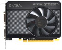 EVGA GeForce GTX 650 Ti 1071Mhz PCI-E 3.0 1024Mb 5400Mhz 128 bit 2xDVI Mini-HDMI HDCP
