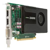 HP Quadro K2000 PCI-E 2.0 2048Mb 128 bit DVI