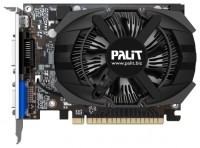 Palit GeForce GTX 650 1071Mhz PCI-E 3.0 1024Mb 5200Mhz 128 bit DVI Mini-HDMI HDCP