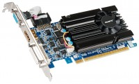 GIGABYTE GeForce GT 610 810Mhz PCI-E 2.0 1024Mb 1333Mhz 64 bit DVI HDMI HDCP