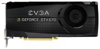 EVGA GeForce GTX 670 1006Mhz PCI-E 3.0 2048Mb 6208Mhz 256 bit 2xDVI HDMI HDCP
