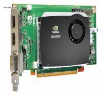 HP Quadro FX 580 450Mhz PCI-E 2.0 512Mb 1600Mhz 128 bit DVI