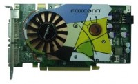 Foxconn GeForce 7900 GS 560Mhz PCI-E 256Mb 1400Mhz 256 bit 2xDVI TV YPrPb