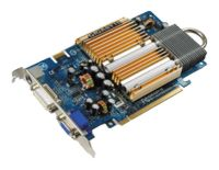 GIGABYTE GeForce 7600 GS 400Mhz PCI-E 256Mb 800Mhz 128 bit DVI TV YPrPb Silent