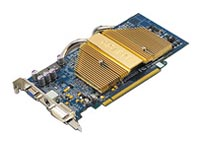 GIGABYTE Radeon X800 400Mhz PCI-E 256Mb 700Mhz 256 bit DVI TV YPrPb