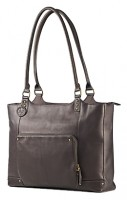 HP Ladies Brown Leather Tote