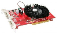 PowerColor Radeon HD 3650 725Mhz AGP 512Mb 1000Mhz 128 bit 2xDVI TV HDCP YPrPb